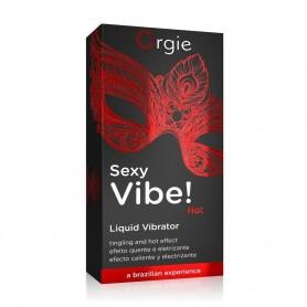 Gel lubrificante vaginale effetto vibrante stimolante con effetto caldo 15 ml