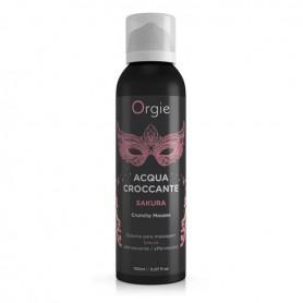 Gel schiuma da massaggio lubrificante per corpo vaginale anale acqua croccante sakura