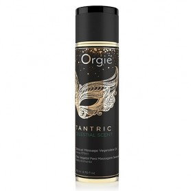 Olio per Massaggi sexy Tantric Sensual Oil Celestial Scent Orgie 200 ml