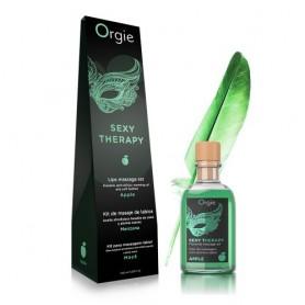 kit olio da massaggio erotico commestibile lubrificante vaginale anale orgie lips apple