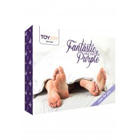 set manette frustino ovetto vibrante maschera anello lubrificante candela purple