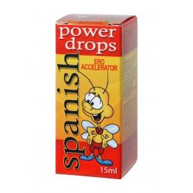 Gocce energetiche spanish fly power drops stimolante sessuale eccitante 15 ml