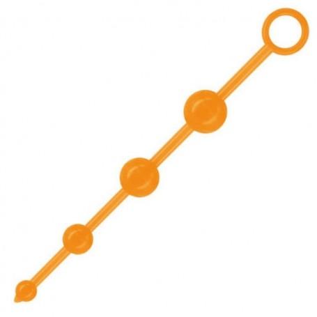 Fallo anale 4 fluo beads acid Orange