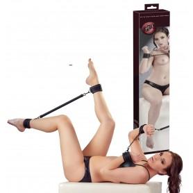 manette e polsini nero costrittivo bondage fetish per giochi erotici sexy black