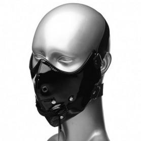 maschera sadomaso nero fetish bondage per uomo e donna giochi erotici sessuali