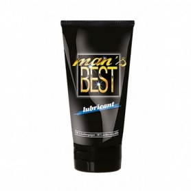 Lubrificante intimo anale gel sessuale vaginale a base acqua Best Lube Man 150 ml