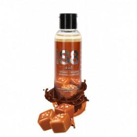 lubrificante gel intimo aromatizzato al caramel commestibile per sesso orale