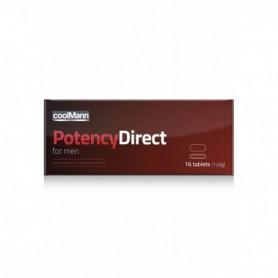 of integratore alimentare per migliorare erezione Potency Direct