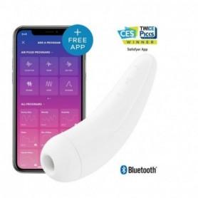 Succhia clitoride Satisfyer Curvy 2+ stimolatore vaginale con app vibratore