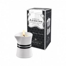 candela da massaggio corpo e schiena con olio professionale massage oil candle 120 gr