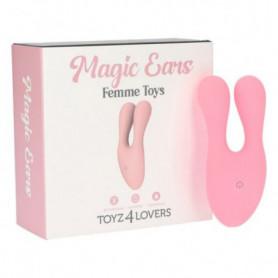 Stimoatore clitoride vibrante in silicone vibromassaggiatore vaginale ricaricabile