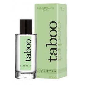 Profumo ai feromoni per uomo eau de toilette parfum spray 50 ML Libertin for men