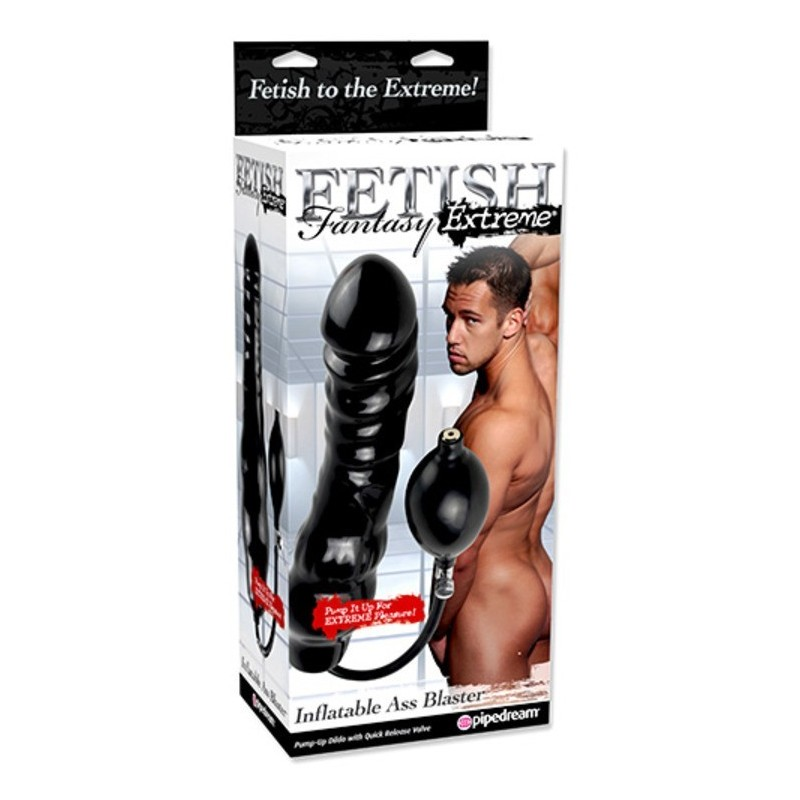 Fallo Anale gonfiabile fetish fantasy inflatable ass blaster