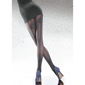 Collant calze velato con 40 den Meria fiore calze