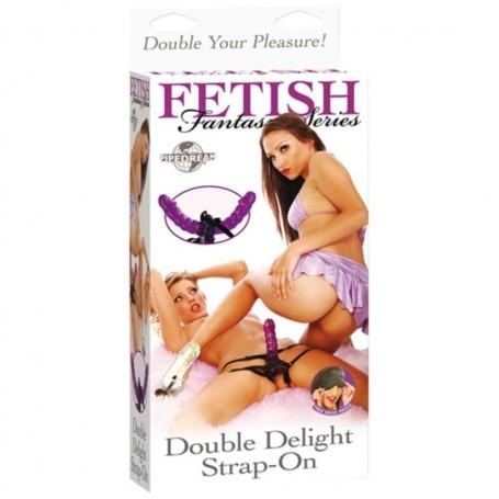 Fallo Indossabile Dildo vaginale strap on fetish fantasy Double Delight