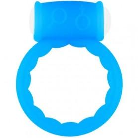Anello fallico vibrante fluo cock ring vibrating blu